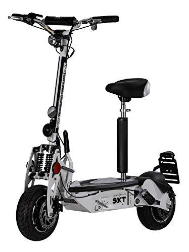 SXT1000 XL EEC Facelift Elektro Scooter Weiss Elektroroller 48V 12Ah Bleigel Akku