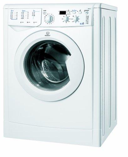 Indesit IWDD 6145 (EU) Waschtrockner/BA / 1400 UpM/Waschen: 6 kg/Trocknen: 5 kg/Eco Time/Mengenautomatik/weiß