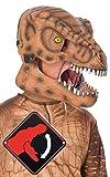 Jurassic World 2 T-Rex - Maschera da dinosauri con mascella mobile Maschera dinosauri stampata con chiusura elastica Taglia unica per bambini. Il prodotto Rubie's è testato secondo tutti gli standard europei e britannici, inclusi EN71 e REACH. Si pre...