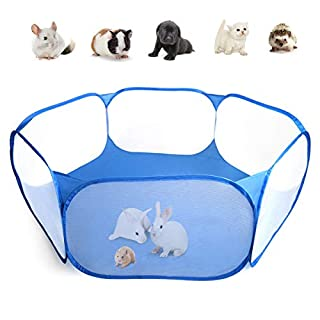 Casifor Guinea Pig Cage Rabbit Cage Indoor with Mat Playpen Perfect Size for Small Animal Pet Play Pen Easy to Clean Exercise Yard Fence Portable Tent for Hamsters, Chinchillas, Hedgehog, Puppy, Cats (B07VNM4BZ2) | Amazon price tracker / tracking, Amazon price history charts, Amazon price watches, Amazon price drop alerts