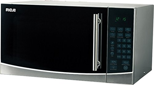 RCA RMW1108 microwave oven, standard, Stainless