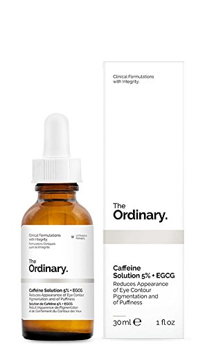 Caffeine Solution 5% + EGCG | Alcohol Free - Oil Free - Silicone Free - Nut Free - Vegan - Gluten Free - Cruelty Free | Reduces Appearance of Eye Contour Pigmentation and of Puffiness