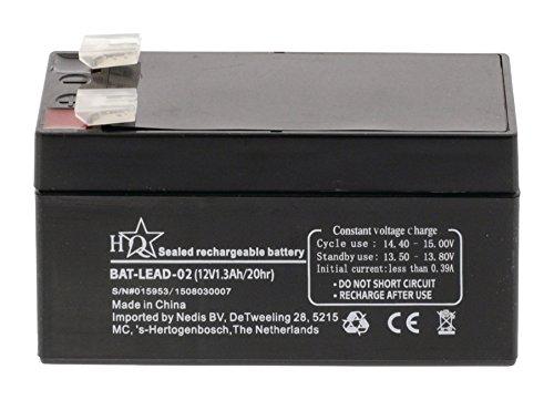 Premium Blei Akku 12V 1,3Ah Universal - für Solar / Alarmanlage Modellbau Notstromversorgung etc.
