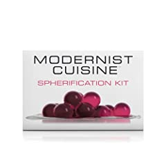 Developed by the publishers of MODERNIST CUISINE Contains 4 Essential Ingredients for Direct Spherification Includes Perfect Caviar Maker Tool to Ensure Your Success Complete Illustrated Recipe Guide with Step-by-Step Photo Instructions The Perfect G...