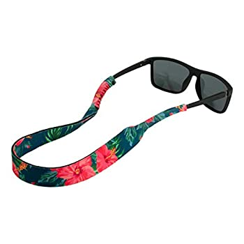 Ukes Premium Sunglass Strap - Durable & Soft Eyewear Retainer Designed with Floating Neoprene Material - Secure fit for Your Glasses and Eyewear  The Alohas