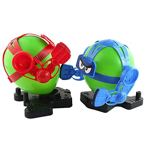 DIZHIGE Robo Fight-Balloon Puncher, Battling Robot with Balloon Head Keep Punching Until It POPS, Blasting Balloon Toy for Kids(2 Robots and 20 Balloons)