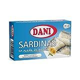 Dani - Sardinas en aceite de girasol - 12 x 120 gr.
