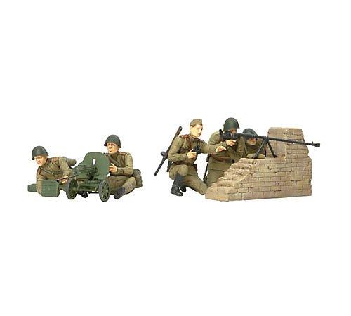 タミヤ 1/35 ミリタリーミニチュアシリーズ No.306 ソビエト陸軍 歩兵 対戦車チームセット プラモデル 35306