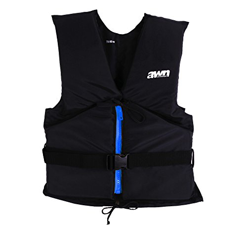 AWN Black Edition Jacket Regatta Chaleco Ayuda Flotante Kayak Sup Board Vela