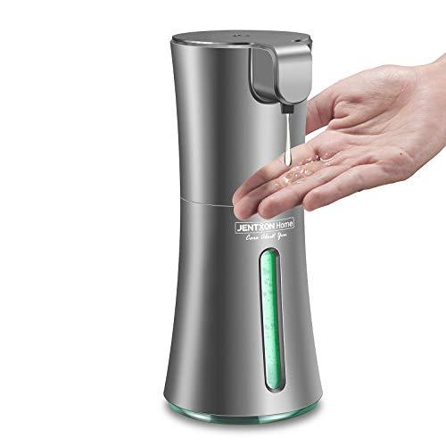 Automatic Hand Sanitizer Gel Dispenser, 400ml/13.5oz Touchless Dispenser for Gel, 2 Modes Adjustable Output Gel Dispenser Hand Free Battery Operated, Suitable for Home Kitchen Office Supermarket