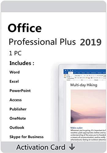 Clave de activación de licencia para Office 2019 Professional Plus, clave de licencia original, vida, vida, código clave enviado por Amazon Mensaje/correo electrónico máximo 12 horas