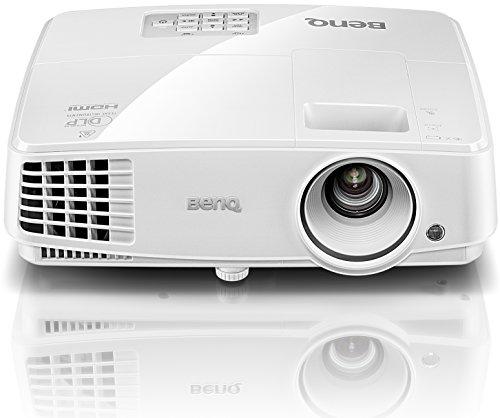BenQ TW529 DLP-Projektor (Beamer mit 3D über HDMI, WXGA, 1280 x 800 Pixel, 3300 ANSI-Lumen, Kontrast 13000:1, VGA, Smart Eco) weiß