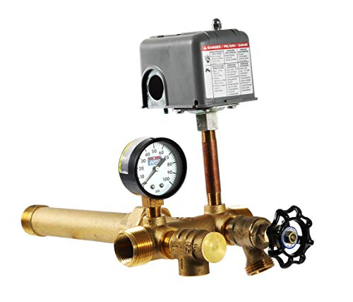 Plumb eeze Pressure Tank Installation Kit with 1' Brass Union tank tee to fit most pressure tanks with diameters up to 16'