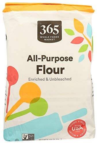 365 by Whole Foods Market, Flour, All-Purpose, 5 Pound