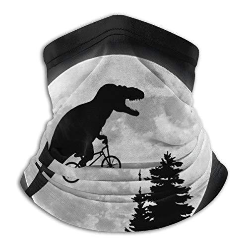 T-Rex Ride Bike To Moon - Cache-cou en polaire confortable - Pour le cou et le cou