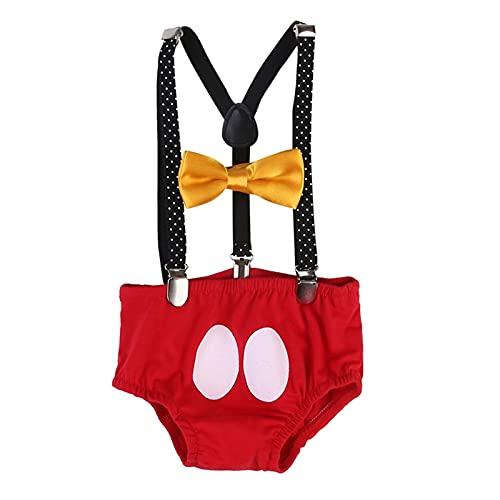 Newborn Baby Boy Girl Outfits Kids Romper Sumpsuit Pantalones Traje Regalos de cumpleaños (Kid Size : 24M)