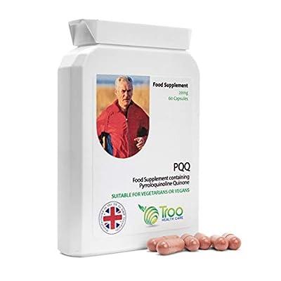 PQQ 20mg 60 Capsules   Daily Pyrroloquinoline Quinone Supplement   UK Manufactured   Quality Guaranteed