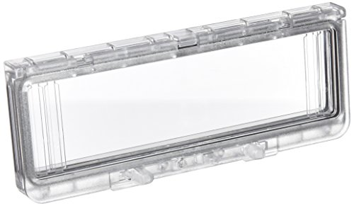 Schneider Electric NSYVA2710M kunststof venster met scharnieren, IP 65, H 78 x B 200 x L 15 mm