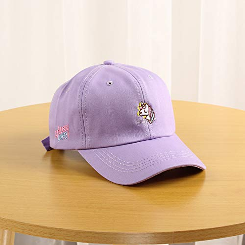 wtnhz Fashion items Embroidered peak cap youth student baseball cap Korean soft top sun hat