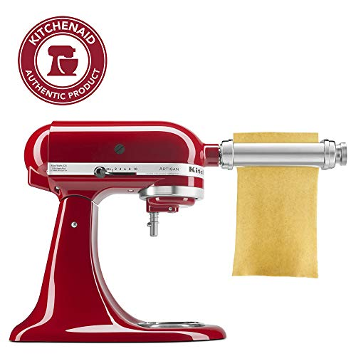 KitchenAid KSMPSA Pasta Roller Attachment, Silver