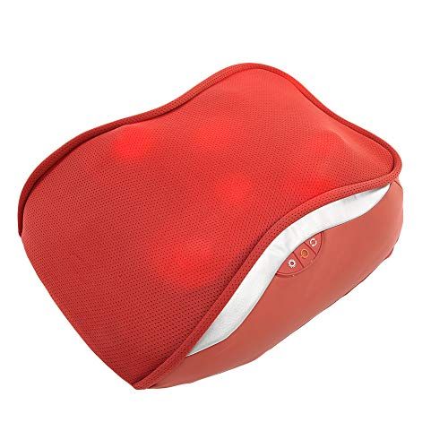 Deep Tissue Kneading Massager Cushion Comfortable Muscle Massage Pillow for Office Use for Body Relaxation
