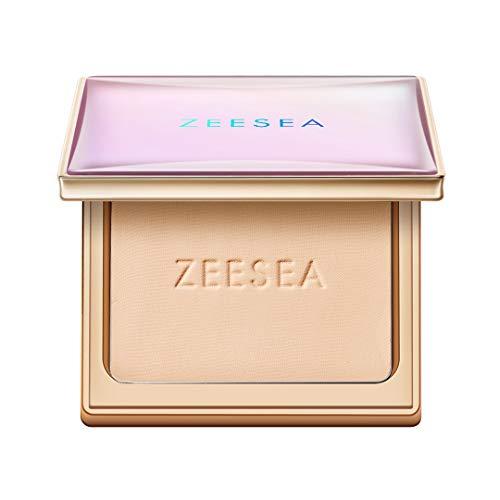 ZEESEA(ズーシー) メタバースピンクシリーズ パウダーファンデーション 毛穴カバー 日中の化粧なおし 皮脂調整
