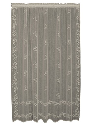 Heritage Lace, Ecru Sheer Divine 60x84 Panel, 60 by 84-Inch