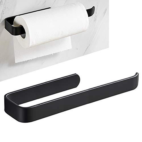 Küchenrollenhalter,ohne Bohren Küchenpapierhalter,Papierrollenhalter aus Aluminium,Wandmontage Papierrollenhalter Unter Schrank,für Alle Größen von Rollenpapier