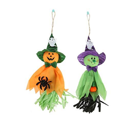 YeahiBaby 2pcs Halloween hängenden Geist Spukhaus Horror Halloween Dekoration Requisiten