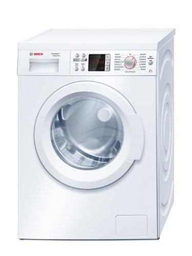 Bosch WAQ28410 Waschmaschine Frontlader Avantixx 7 / A+++ / 1400 UpM / 7 kg / 1.05 kWh / Weiß / VarioPerfect / Warmwasseranschluss
