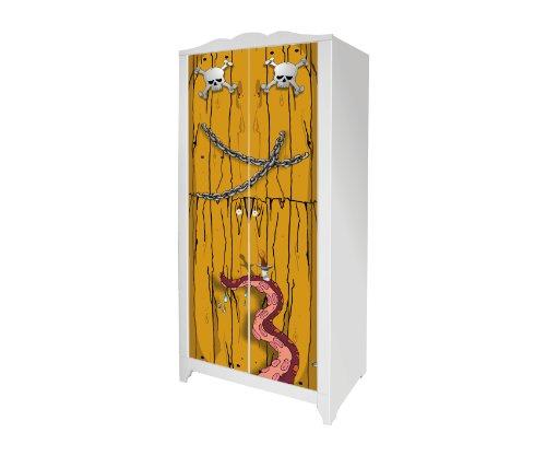 Piraten Möbelsticker/Aufkleber für den Kinderschrank HENSVIK von IKEA - IM124 - Möbel Nicht Inklusive | STIKKIPIX