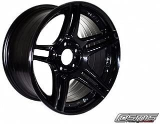 Cosmis Racing S5R Black 17x9-5x114.3 +22mm Offset Wheel Set