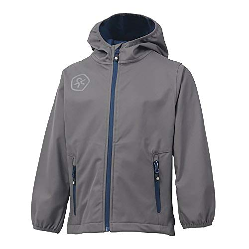Color Kids. Barkin, Softshell-Jacket Junior Air-Flo 8000, Castle Grey, 122