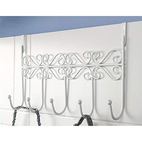 Cinco ganchos Ganchos sobre la puerta Toalla Ropa Sombrero Bolsa Sobre la puerta Colgador de baño Colgante Abrigo Cloth-no2, China