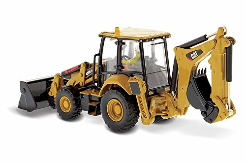 Diecast Masters Caterpillar 420F2 IT Backhoe Loader, Yellow 85233 - 1/50 Scale Diecast Model Toy Car