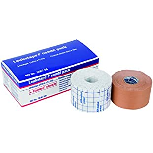 Leukotape P Combi Pack with Strapping Tape and Fixation Tape