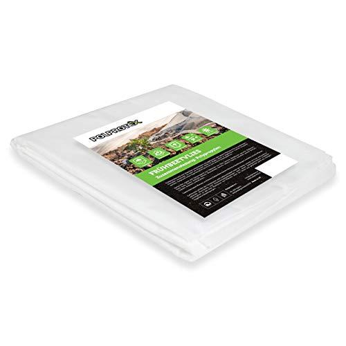 Polprotex Non-tissé de protection hivernale pour jardin avec haute stabilisation UV - Poids : 17 g/m² - Largeur : 1,6 m - Longueur : 20 m - 32 m²