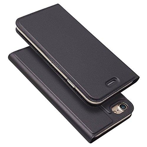LEMAXLERS Carcasa iPhone SE,Funda iPhone SE/iPhone 5 5S Brillante Brillo Patrón de galjanoplastia Carcasa de Tipo Libro con de Soporte y Solapa con Cierre magnético Case,PY Black