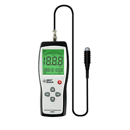 ZJN-JN Testeur de sécurité de revêtement Jauge d'épaisseur portable intelligent de mesure Largeur du film Calibre Range instrument AS931 testeur numérique Indicateurs de mesure