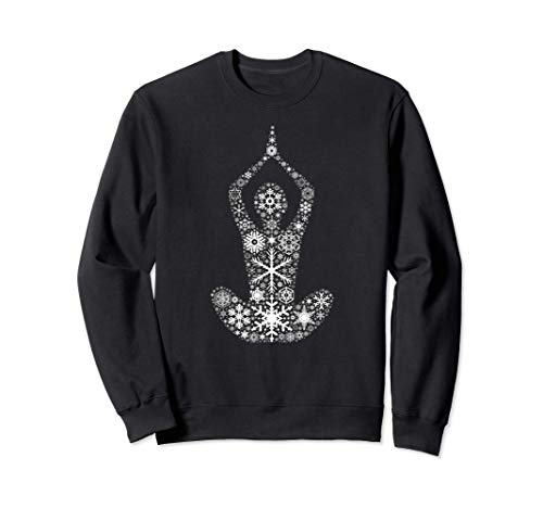 copo de nieve de navidad - budismo yoga Sudadera
