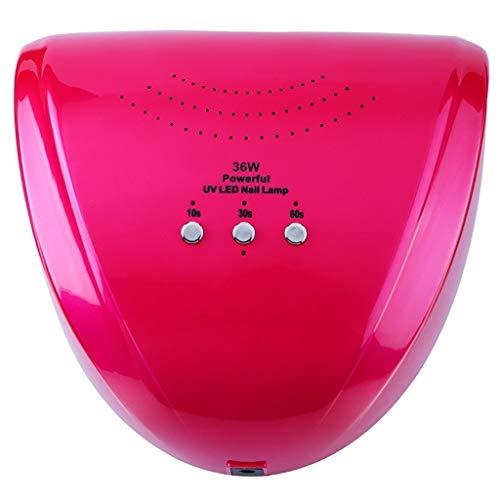 ⛪36W LED UV-Lampen-Nagel-Trockner-Nagel-Gel-Maschinen-Nagel-Kunst-Trockner-Maniküre-Werkzeuge für das Kurieren MJD423 (Farbe : A)