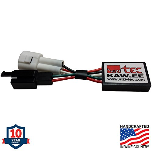 Vizi-Tec Exhaust Servo F1 Light Eliminator for Kawasaki. 10 yr Warranty