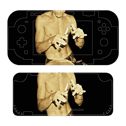 Bruce Lee Eating Christmas Dinner Theme Switch lite exclusive skin, Nintendo Switch sticker protective film, Switch full device exclusive skin sticker protective film