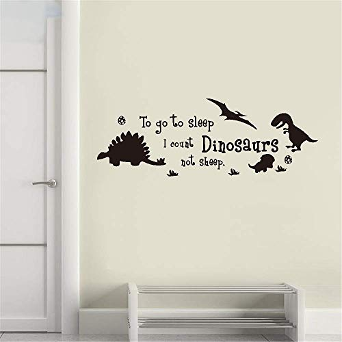 stickers muraux pour chambre b stickers muraux combi vw Nursery Rhyme Wall Decal To Go To Sleep I Count Dinosaurs Not Sheep For Nursery Kids Room Boys Room
