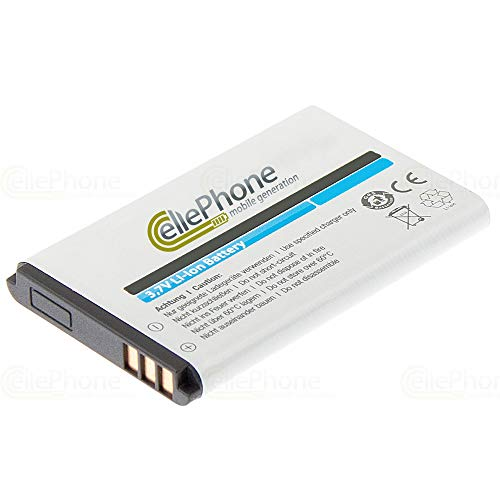 cellePhone Akku Li-Ion kompatibel mit Becker Mamba.4 CE LMU EU Plus (Ersatz für C2049)