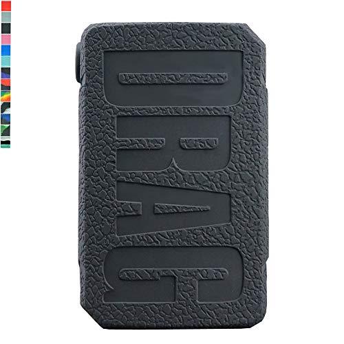 Lononvie 1pcs Protective Case for VOOPOO Drag Mini 117W Start Kit,Silicone Case Sleeve Cover Shield Wrap(Black)