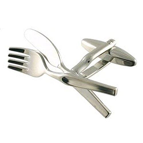 Select Gifts Cuff Links Kitchen Cufflinks~Knife  Georgia