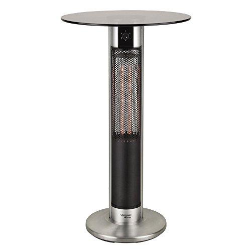 Commutateur infrarouge de table de jardin de bistro 2 étapes chauffant la terrasse extérieure de meubles de projecteur BHP B991572
