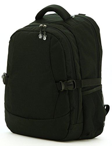 Aidonger Baby Wickelrucksack Multi-function Rucksack mit 2 Taschenclips (Schwarz-76)