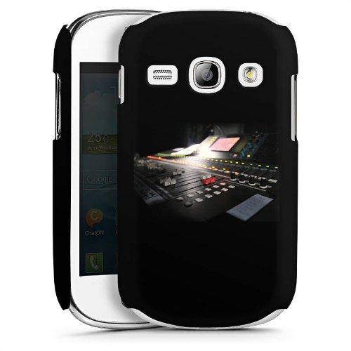 DeinDesign Samsung Galaxy Fame Hülle Schutz Hard Case Cover Tonstudio Mischpult Regler